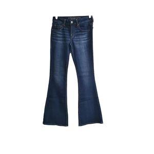 EUC AEO Boho Artist Flare Jeans Sz 6L